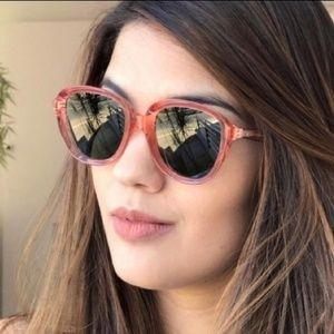 Celine ava pink sunglasses